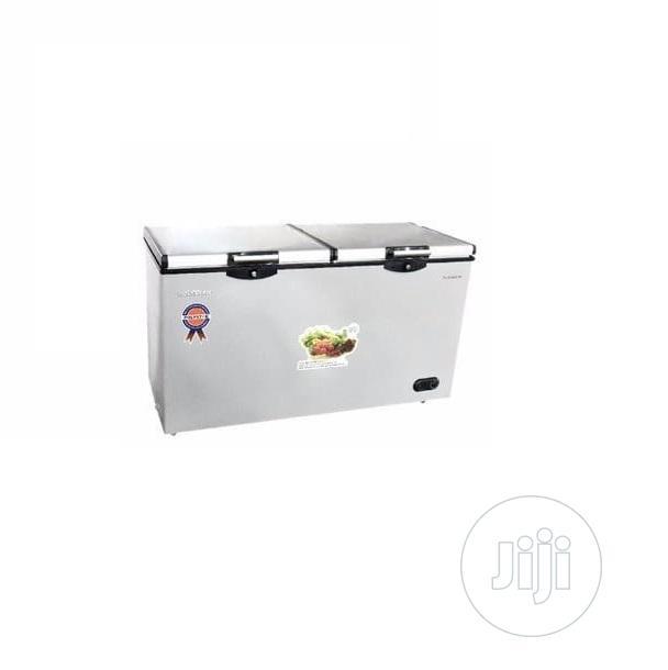 Polystar Double Door Chest Freezer - PV-CF520L | Kitchen Appliances for sale in Alimosho, Lagos State, Nigeria
