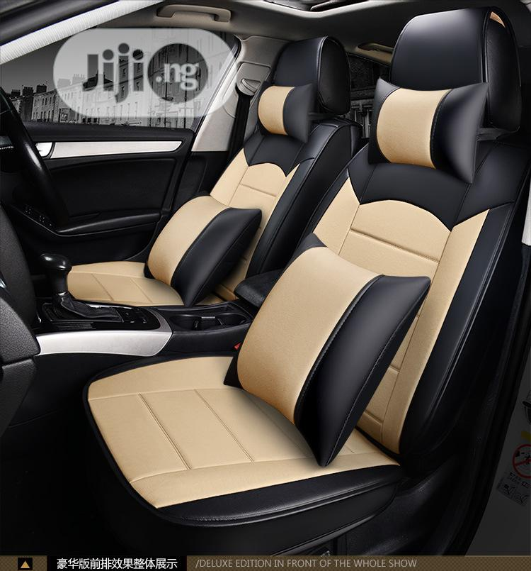 Deluxe Luxury Edition Customize Seat Covers For 5seater Suvs & Sedan