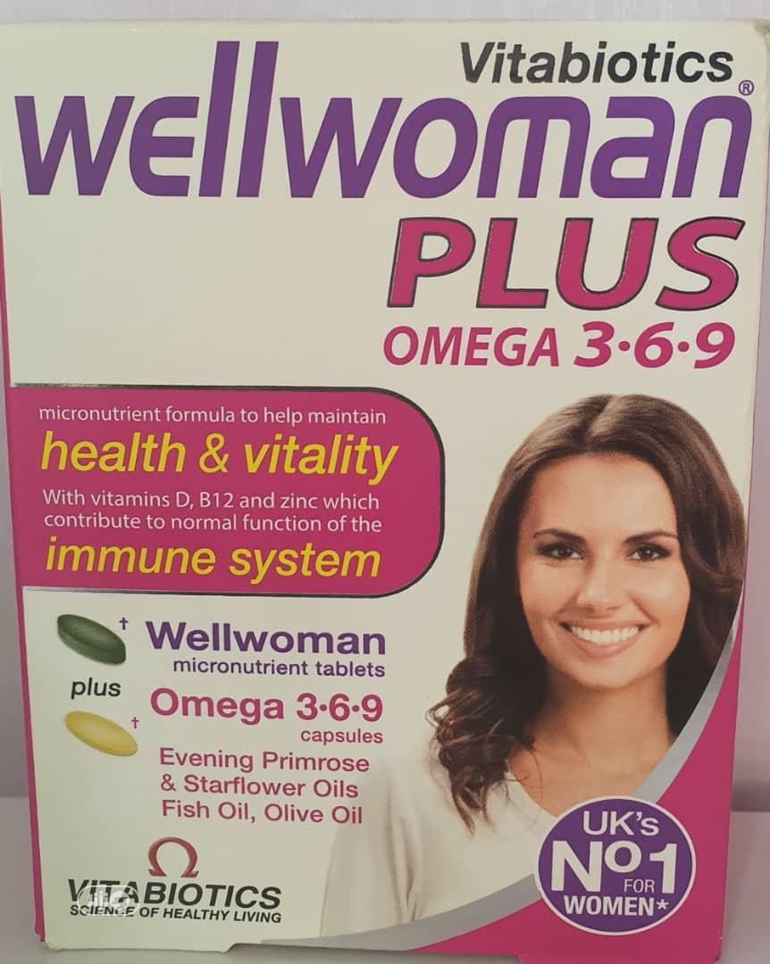 Wellwoman Plus Omega 3-6-9; Nutritional Supplement