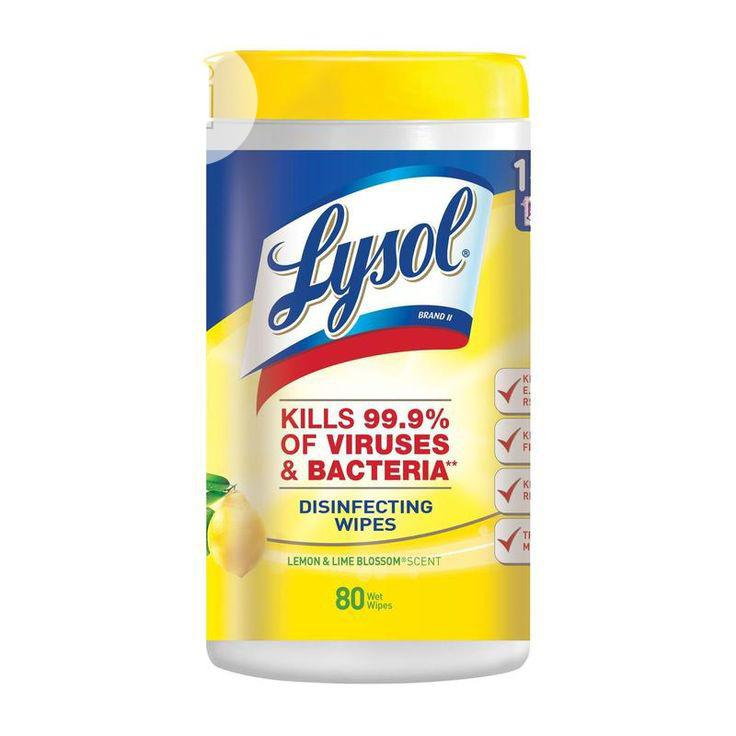 Archive: Lysol Disinfectant Wipes