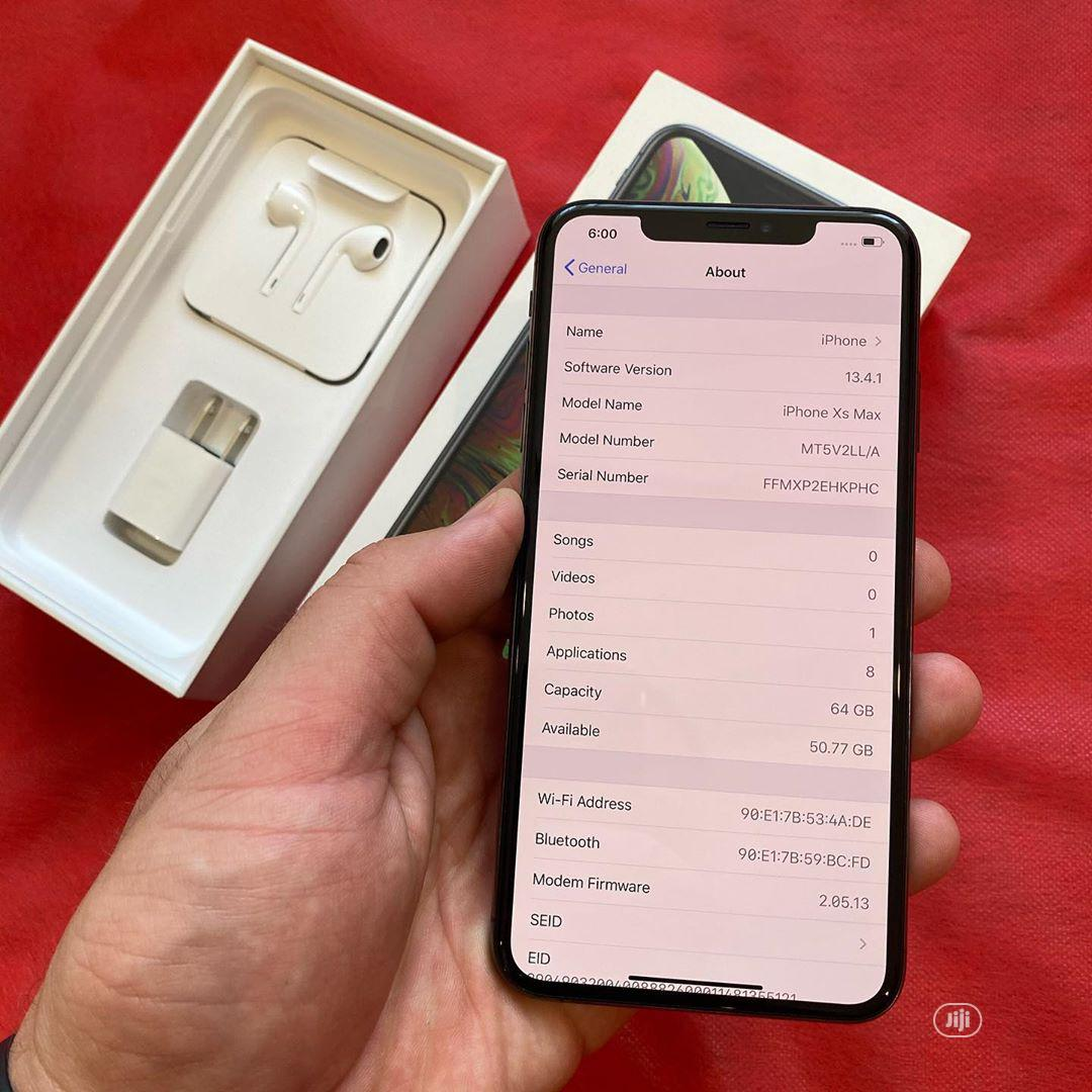 Apple iPhone XS Max 64 GB | Mobile Phones for sale in Lekki Phase 1, Lagos State, Nigeria