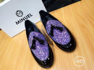 Black and Purple Patent   Shoes for sale in Lagos State, Mushin