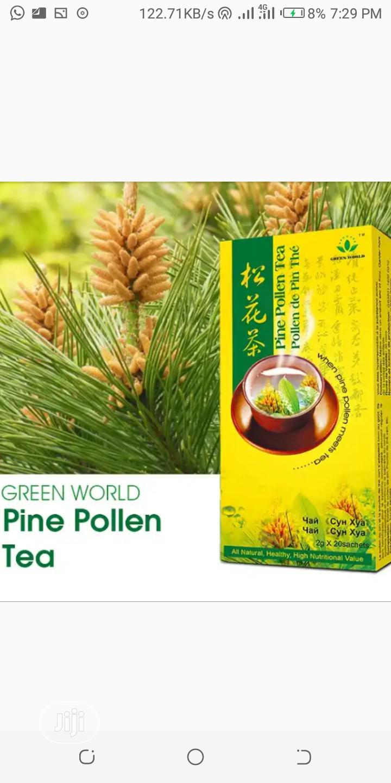 Green World Pine Pollen Tea