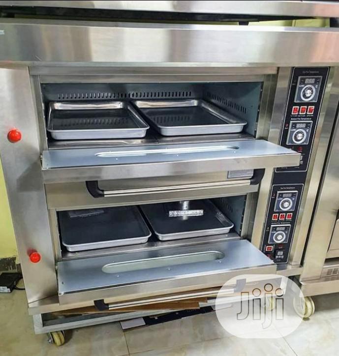 Oven Gas 2 Deck