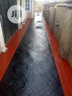 Concrete Stamp Floor | Building Materials for sale in Lagos State, Ifako-Ijaiye