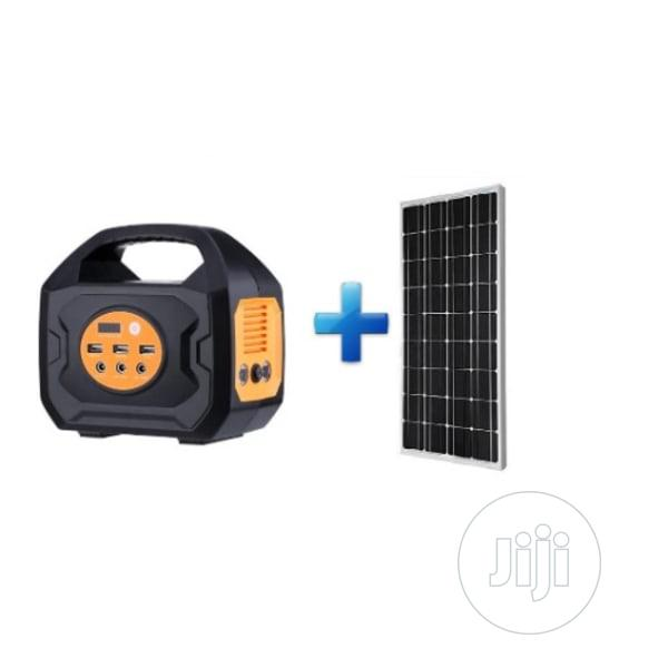 Gracia 200W Solar Generator With Inbuilt Lithium Battery Pure Sine Wv | Solar Energy for sale in Ojo, Lagos State, Nigeria