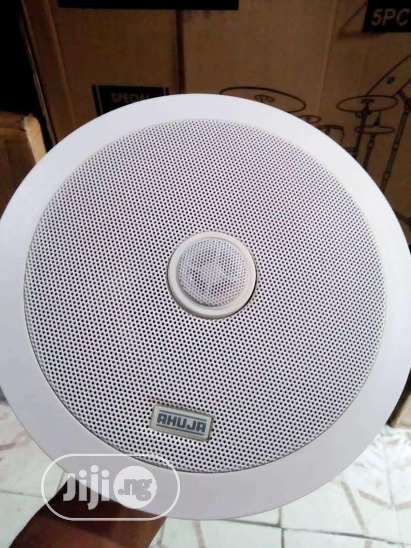 Ahuja Ceiling Speaker 30watts | Audio & Music Equipment for sale in Ojo, Lagos State, Nigeria