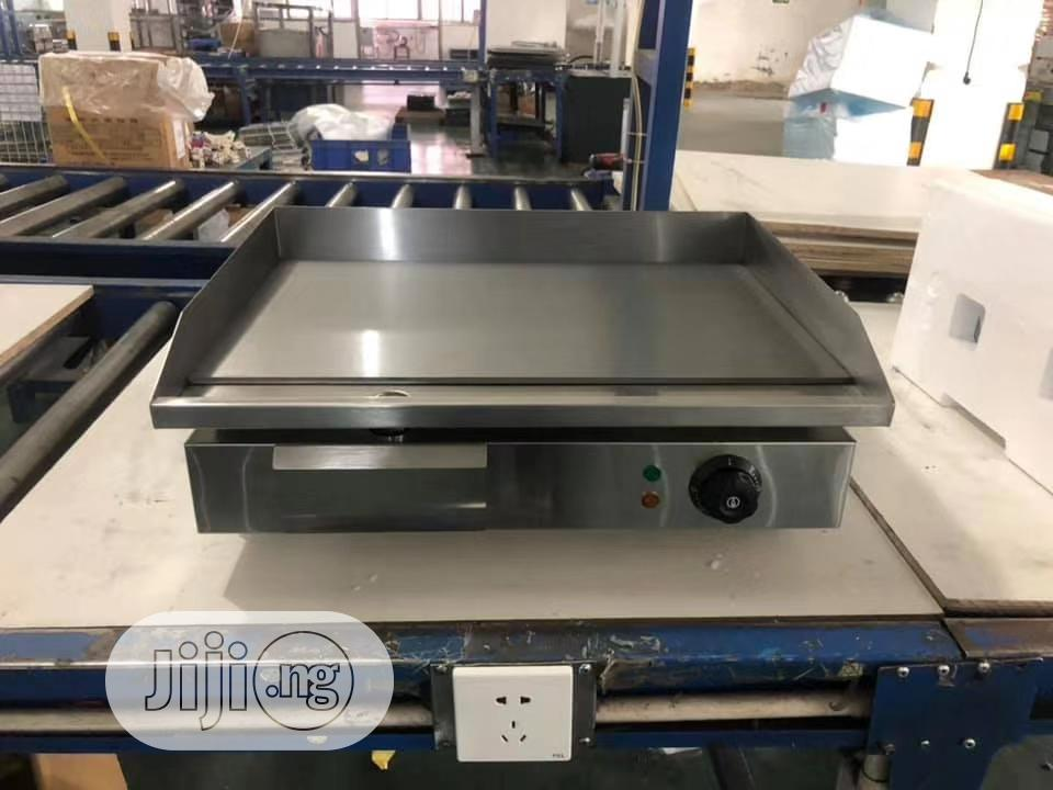 Electric Griddle Machine