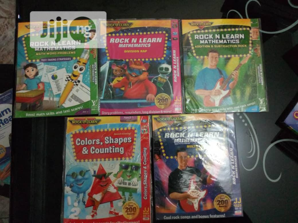 Rock N Learn Mathematics 5 Dvds | CDs & DVDs for sale in Wuse 2, Abuja (FCT) State, Nigeria