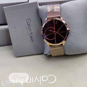 Calvin Klein (CK) Rose Gold Net Chain Watch   Watches for sale in Lagos State, Lagos Island (Eko)
