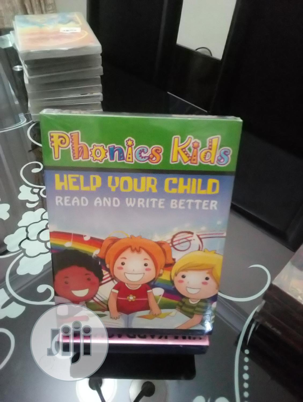 Complete Phonics Kids 4dvds