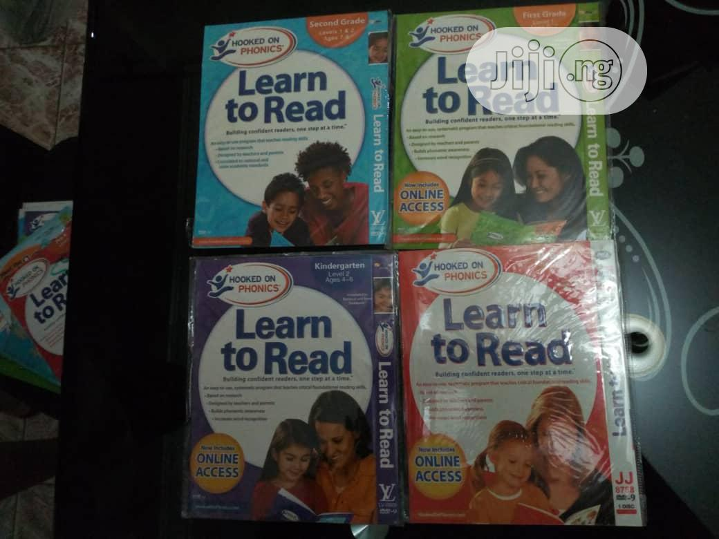 Learn To Read Hooked On Phonics(4dvds)   CDs & DVDs for sale in Wuse 2, Abuja (FCT) State, Nigeria
