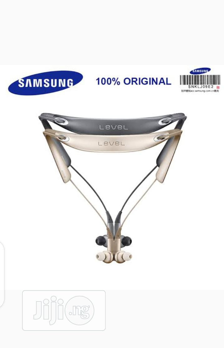Samsung Level U Pro Wireless Bluetooth Neckband | Headphones for sale in Ikeja, Lagos State, Nigeria