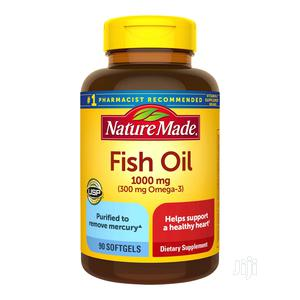 Nature Made Fish Oil 1000 Mg | Vitamins & Supplements for sale in Lagos State, Ojo