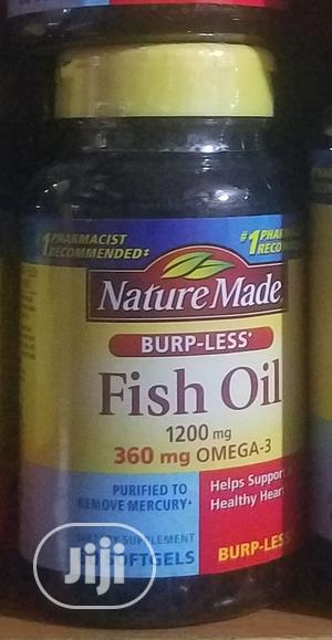 Nature Made Fish Oil 1200mg 360mg Omega-3 | Vitamins & Supplements for sale in Lagos State, Ojo