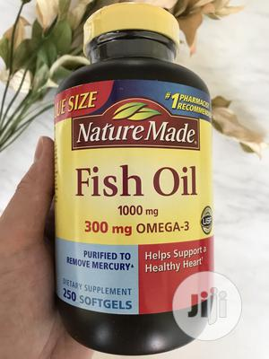 Nature Made Fish Oil 1000 Mg 250 Softgel | Vitamins & Supplements for sale in Lagos State, Ojo