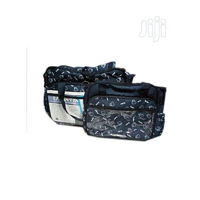 5 In 1 Diaper Bag With Changing Mat