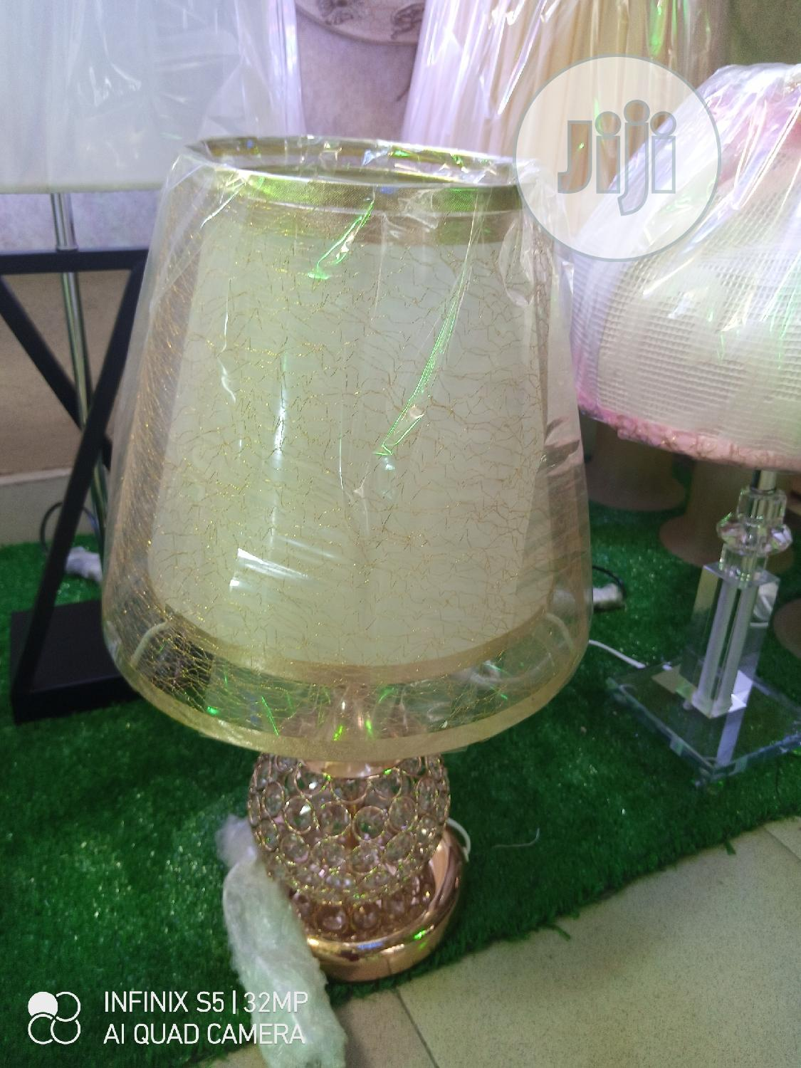 Crystal Bed Side Lamp