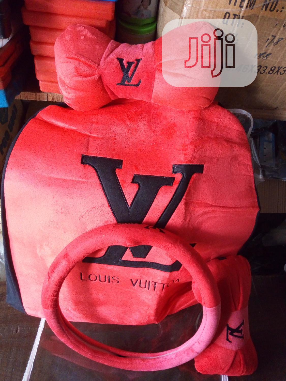 LV Seat Cover For All Cars & Jeeps | Vehicle Parts & Accessories for sale in Mushin, Lagos State, Nigeria