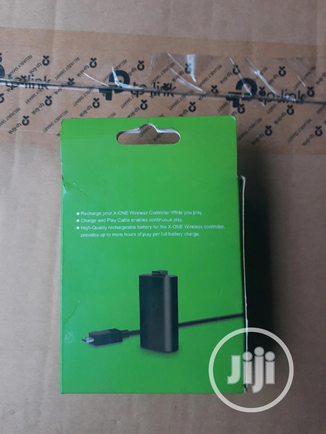 Xbox One Battery Pack | Accessories & Supplies for Electronics for sale in Ikeja, Lagos State, Nigeria