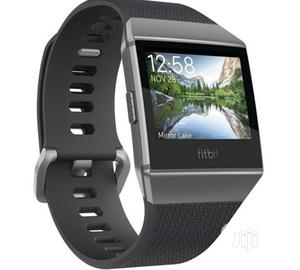 Fitbit Ionic Smartwatch Charcoal/Smoke Grey   Smart Watches & Trackers for sale in Lagos State, Shomolu
