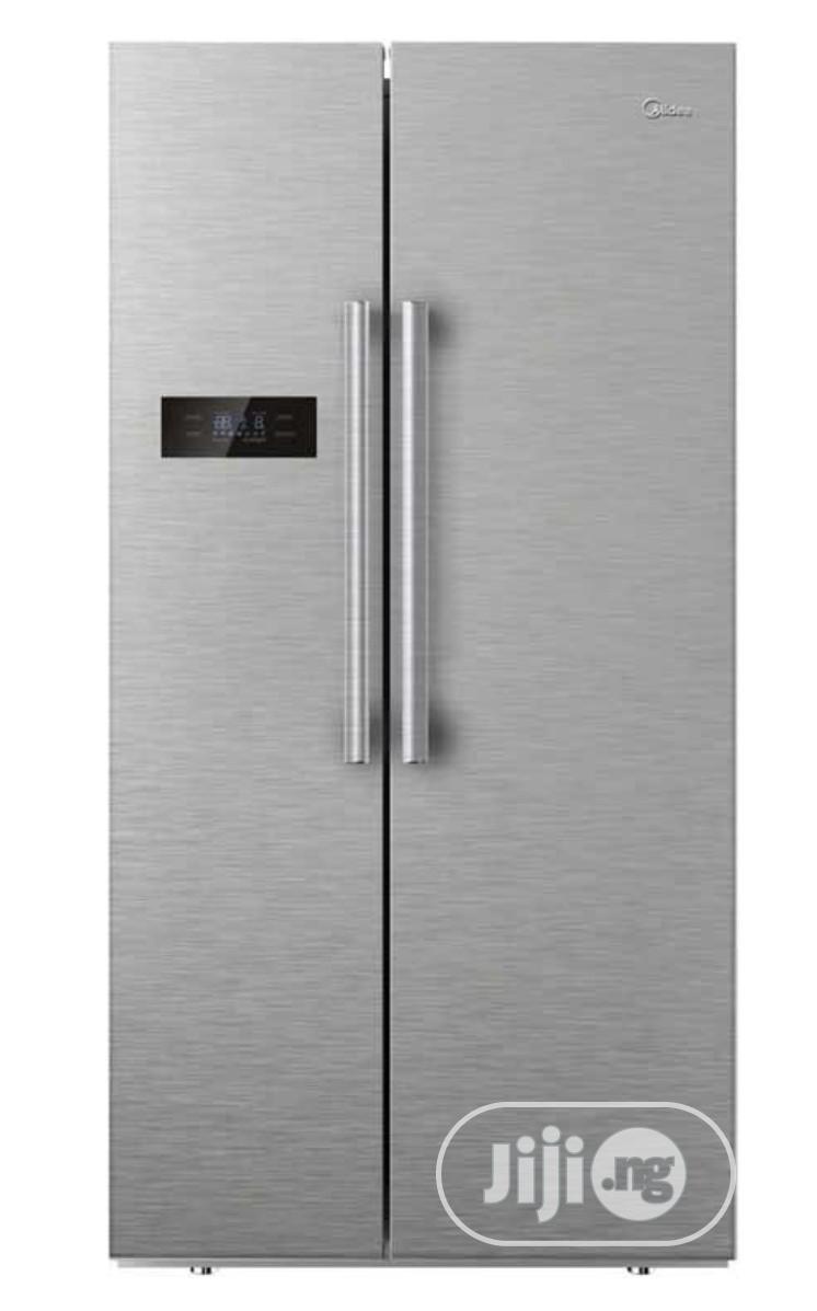 510 Litres Midea Side By Side Refrigerator HC-689WEN