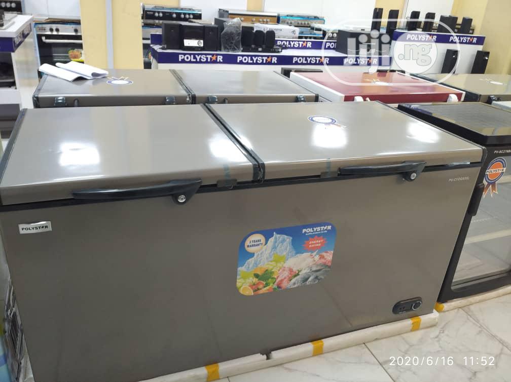 Archive: Polystar Double Door Chest Freezer