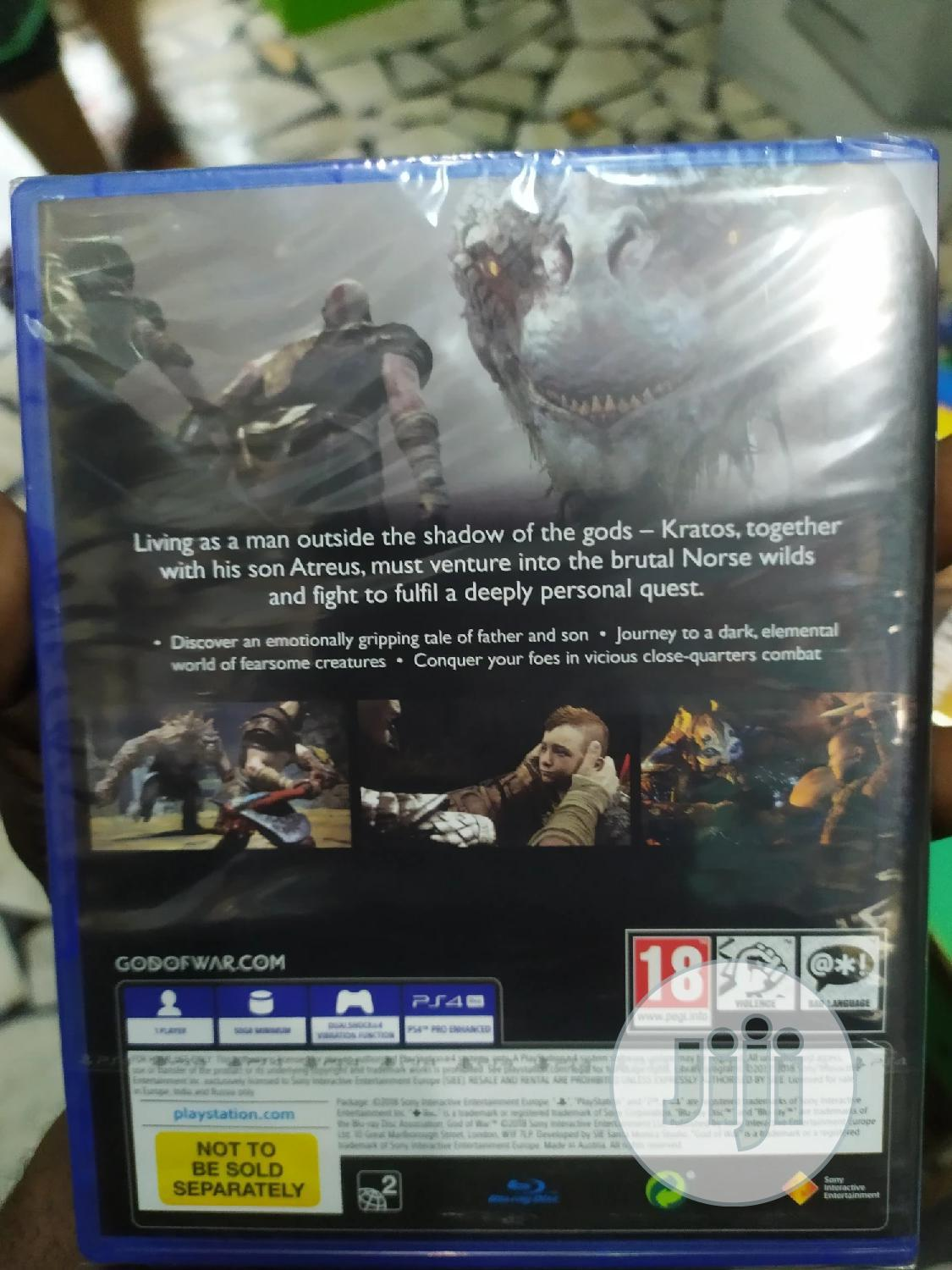 Ps4 God Of War | Video Games for sale in Apapa, Lagos State, Nigeria
