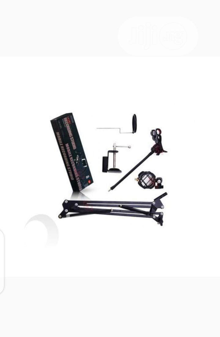 Remax Mobile Recording Studio Microphone Stand, Phone Holder | Accessories & Supplies for Electronics for sale in Ikeja, Lagos State, Nigeria