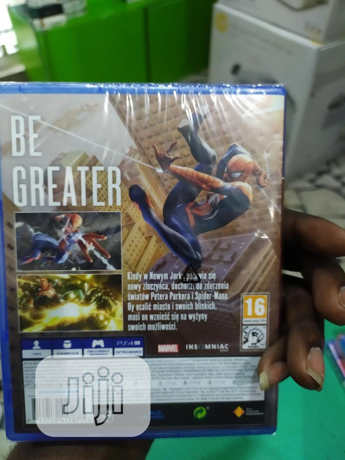 Ps4 Marvel Spider- Man   Video Games for sale in Apapa, Lagos State, Nigeria