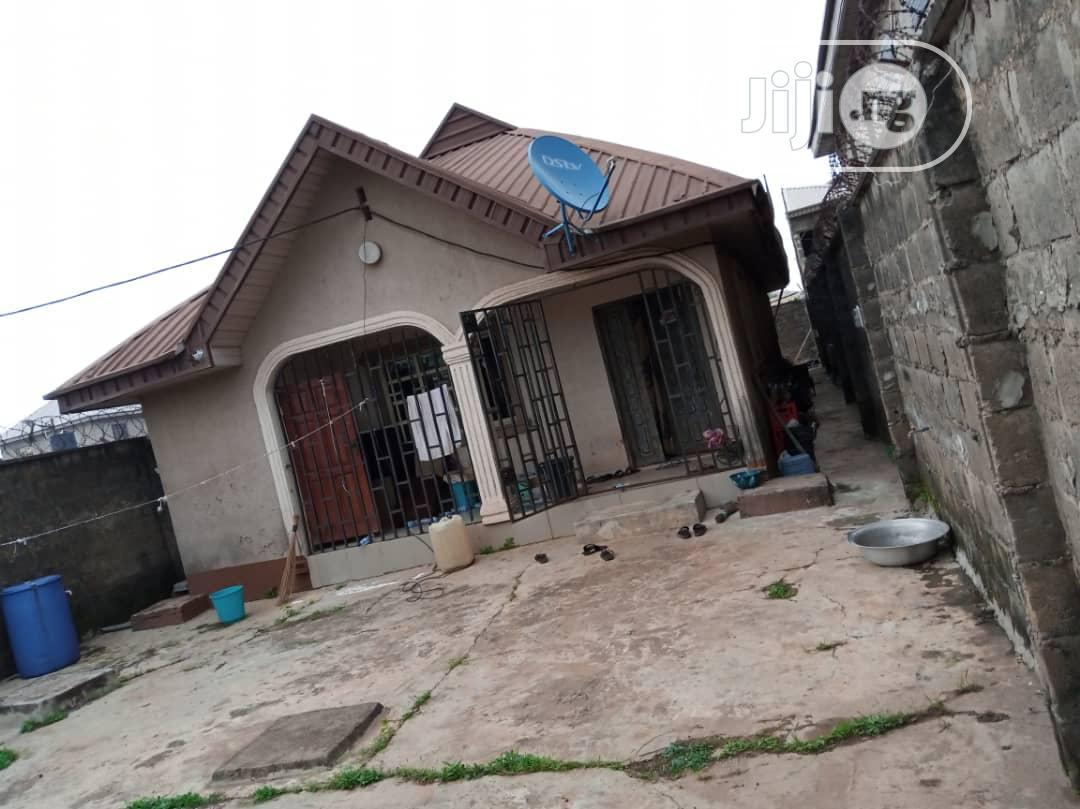 For Sale 3bedroom Bungalow On Half Plot Of Land At Abiola Estate Ayobo