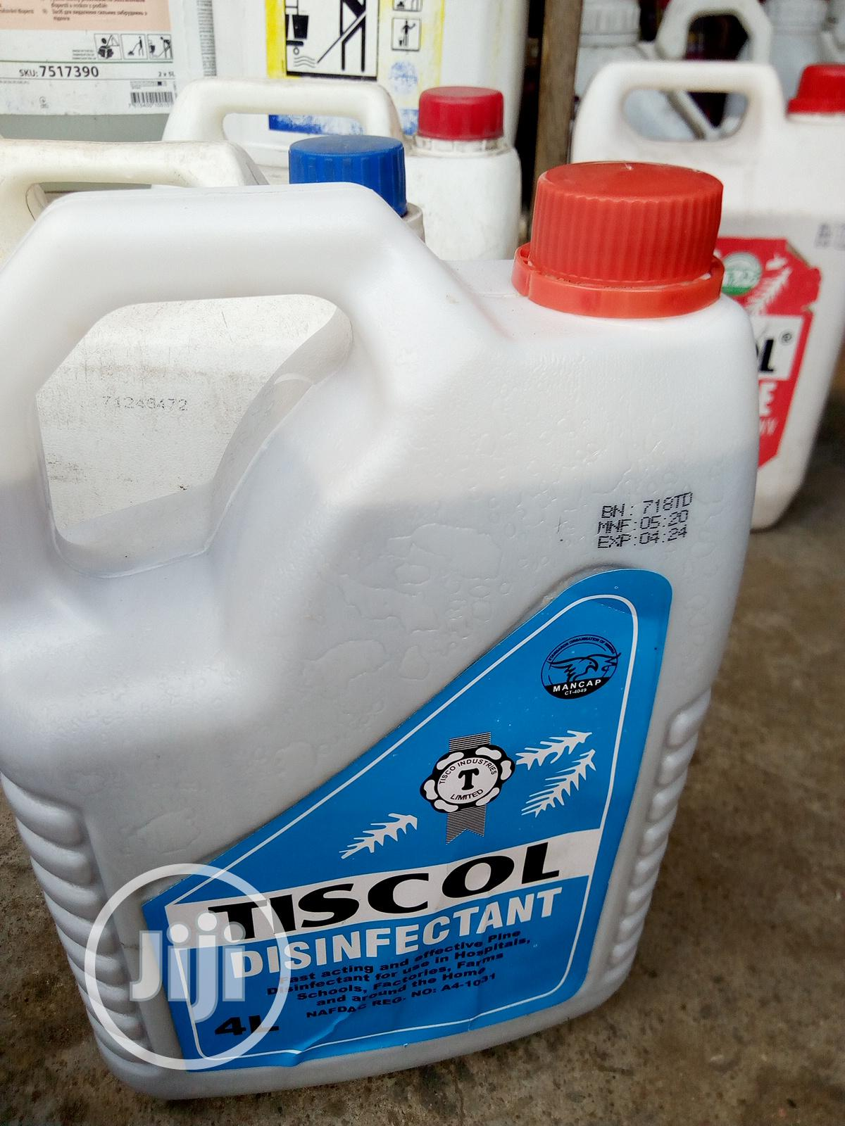 Archive: Tiscol Disinfectant 4 Litres
