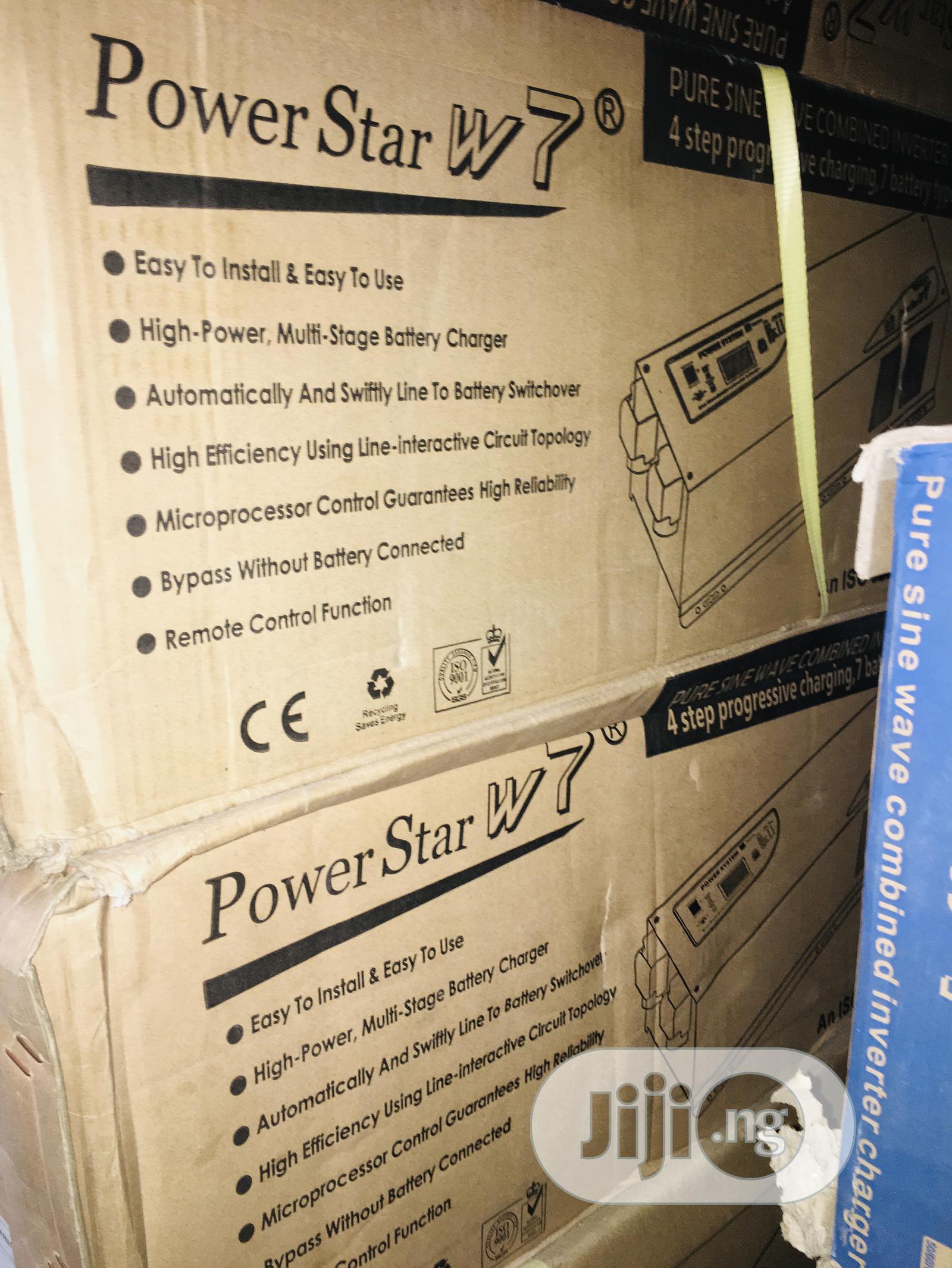 5kva 24v Power Star Pure Sine Wave Inverter Available With 1yrwaranty