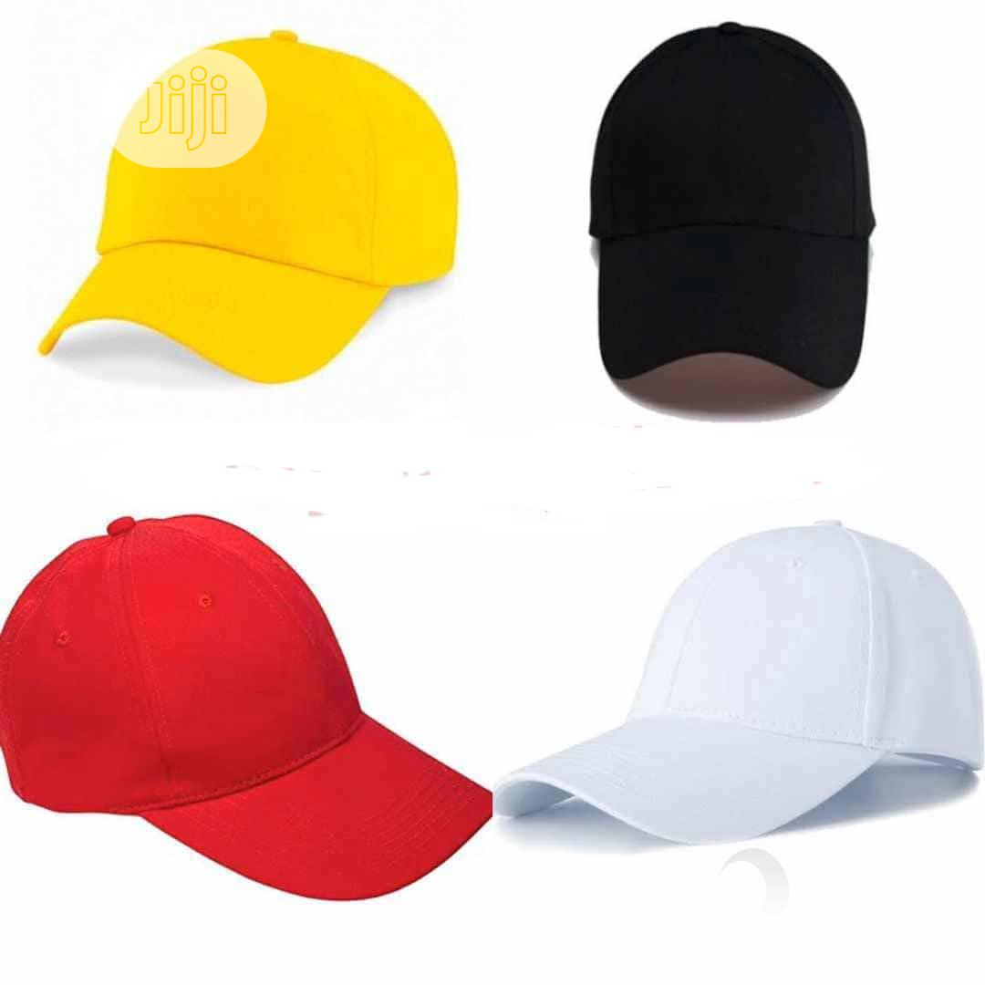 Plain Face Cap | Clothing Accessories for sale in Kosofe, Lagos State, Nigeria