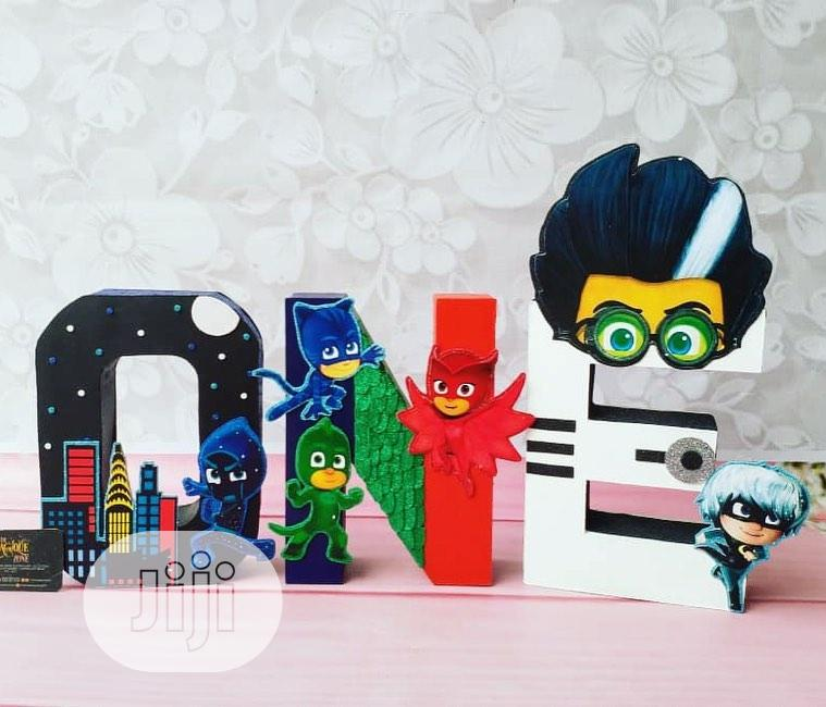 Archive: 3D Theme ONE Party Props
