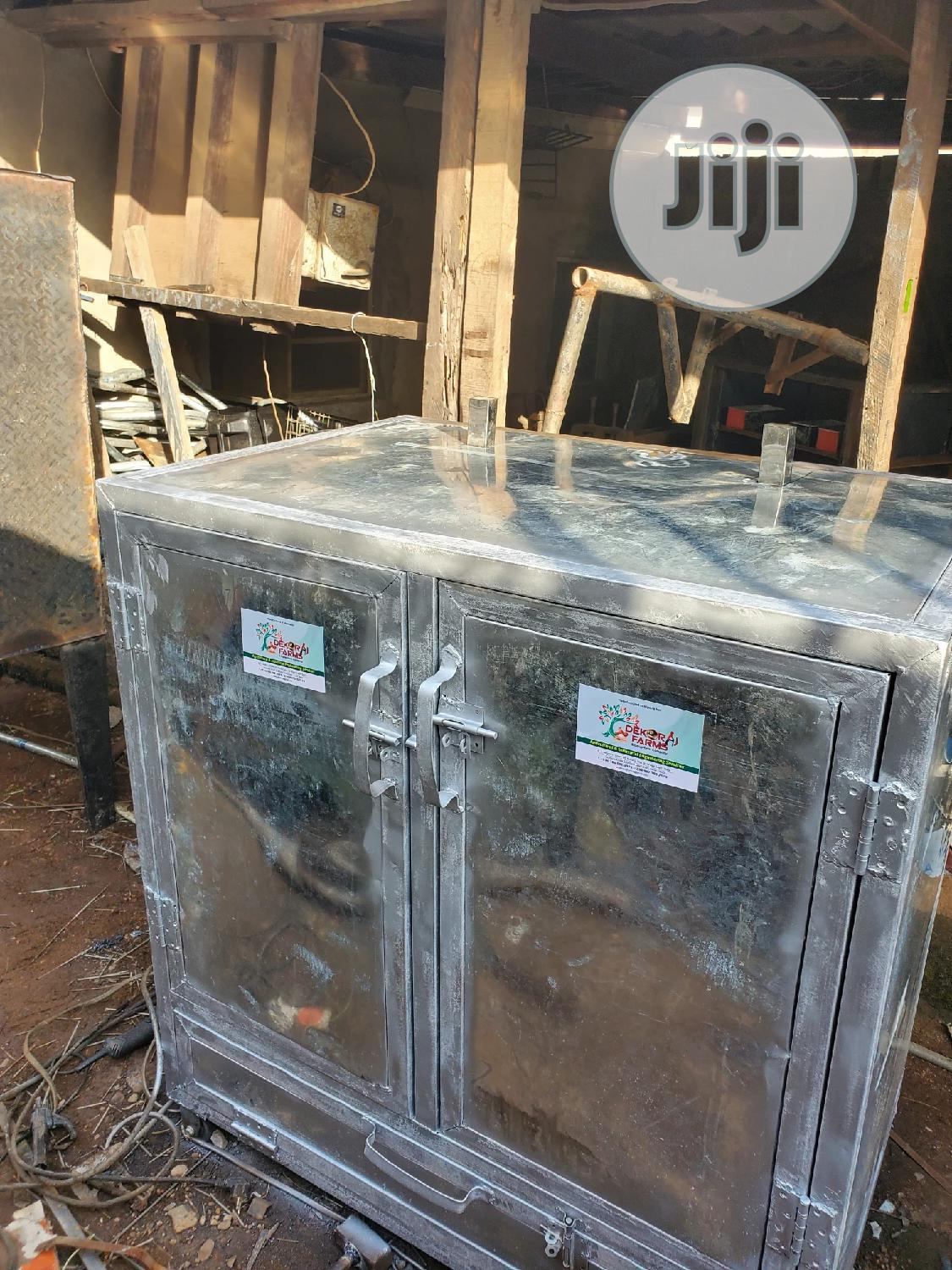 200kg Capacity Fish And Plaintain Oven