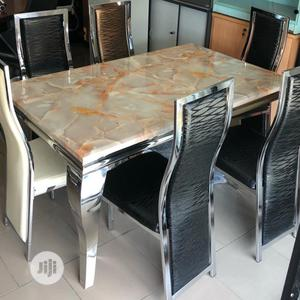 Latest Standard Marble Top Dining Table | Furniture for sale in Lagos State, Lekki