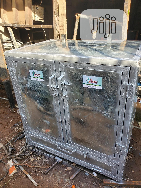 Galvanized Fish Smoking Kiln
