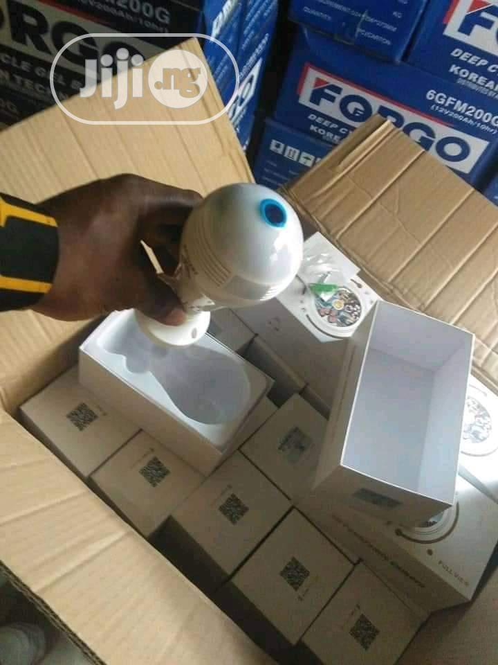 CCTV Camera Wi-fi Bulb