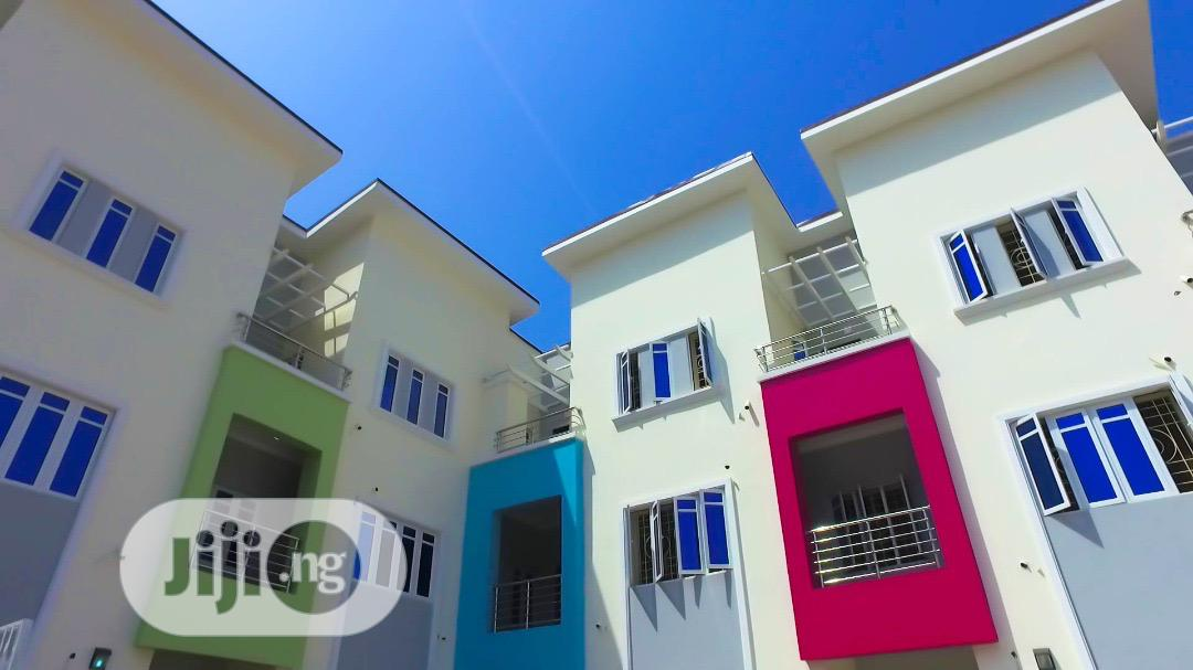 Practically Finished 1,2 3 Units 4 Bedroom Terrace Duplex With BQ | Houses & Apartments For Sale for sale in Guzape District, Abuja (FCT) State, Nigeria