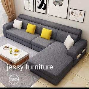 New Set of L-Shaped Sofa With a Center Table | Furniture for sale in Lagos State, Oshodi