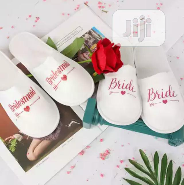 Luxury Bridal Slippers | Wedding Wear & Accessories for sale in Wuse, Abuja (FCT) State, Nigeria