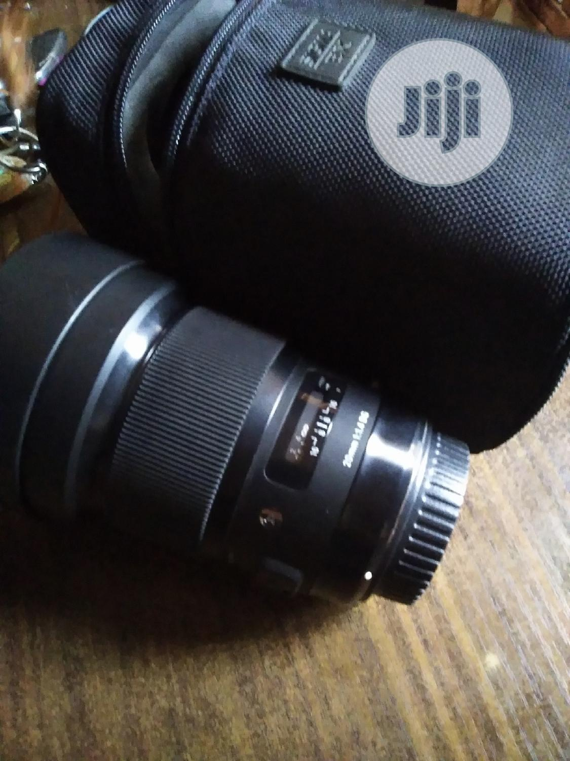20mm Sigma Art Lens 1.4 For Canon | Accessories & Supplies for Electronics for sale in Alimosho, Lagos State, Nigeria