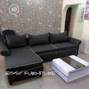New Set of L-Shaped Sofa With Center Table | Furniture for sale in Lagos State, Magodo
