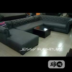 New Set of L-Shaped Sofa With Center Table | Furniture for sale in Lagos State, Yaba