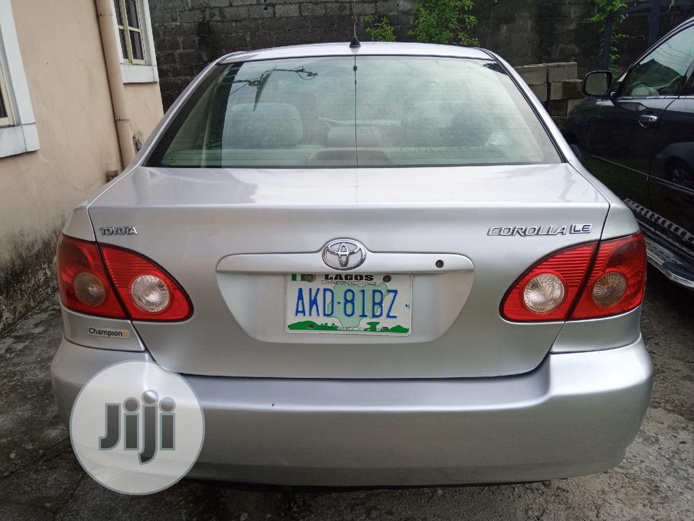 Archive Toyota Corolla 2005 Silver In Port Harcourt Cars Daniel Daniel Jiji Ng