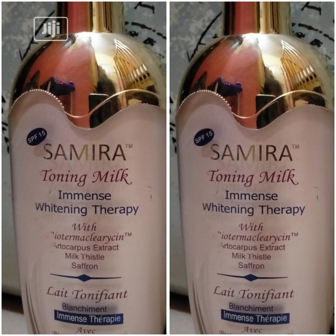 Samira Toning Milk Immense Whitening Therapy