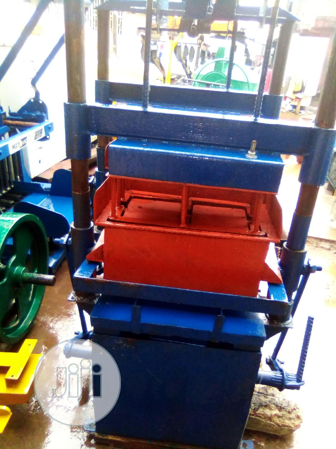 Archive: Electric Block Moulding Machine Local Fabricated