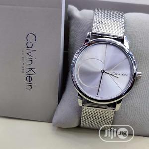 Calvin Klein (CK) Silver Net Chain Watch   Watches for sale in Lagos State, Lagos Island (Eko)