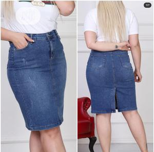 Ladies Jeans Skirt (Quality Denim)   Clothing for sale in Lagos State, Ojodu